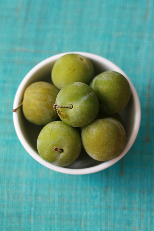 green-plums