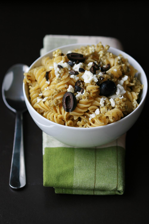 pasta-olives